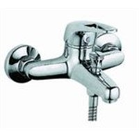 single handle bath-shower mixer