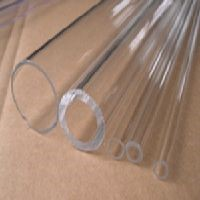 Clear Fused Quartz Glass Tube