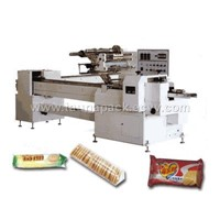 Automatic packing machine without tray