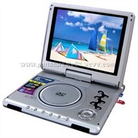 10.4 inch portable DVD /TV /USB/Card reader