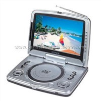 Portable DVD built in TV/USB/CARD READER/IR/MPEG4