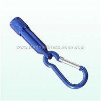 led torch with carabiner hook