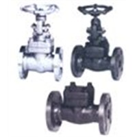 Forged Steel Gate, Globe, Check Valves