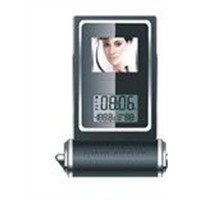 digital photo frame & Calendar display & Temp  Se