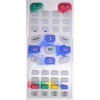 silicon keypad of remote control