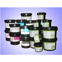 UVB, UVAS Series Screen Printing Ink for Plastic