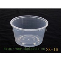 Disposable Microwaveable Plastic Food Container