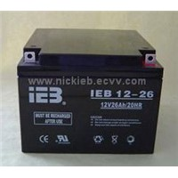 VRLA Battery (12-26C) sealed lead acid battery