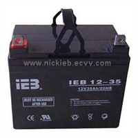 12V Series sealed lead acid Batteries