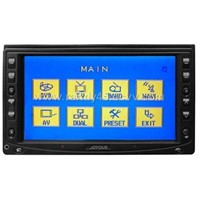 6.2inch double-din DVD monitor with Touch screen