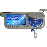 7inch Sun visor DVD monitor with FM Transmission