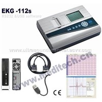 1 channel 12 leads Electrocardiograph-ECG