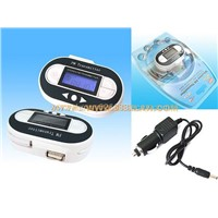 Car Fm Transmitter with Usb Charger Function