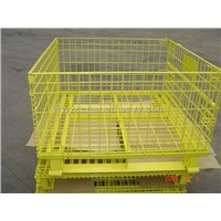 Wire Container (Yellow)
