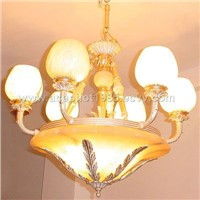 ALABASTER LAMP GD7206