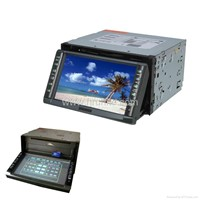 "Double-Din 6.5"" Touch Screen DVD Player"