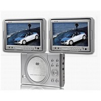 "Car Dvd/divx Player with Twin 7"" Screen"