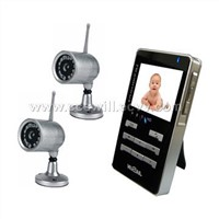 wireless DVR &baby monitor kit