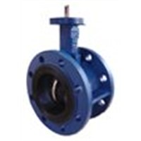 Double Flange Concentric Type Butterfly Valve