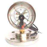 "Diaphragm w/ 4"" Electrical Contact Pressure Gauges"