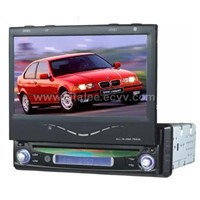 "7"" in dash DVD player with LCD Monitor"