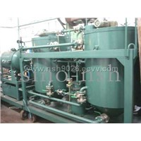 Featured gas engine used oil treatment  purifier