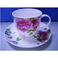 220cc ceramic cup and saucer