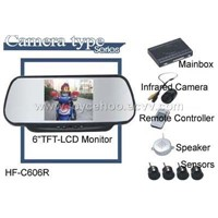 parking sensor w/rear view camera
