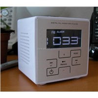 MP3 Alarm Clock with FM Radio