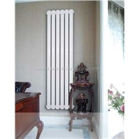 elliptical tube radiator with steel head