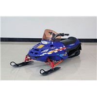 125cc snowmobile(blue)
