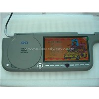 7inch sunvisor DVD player with screen