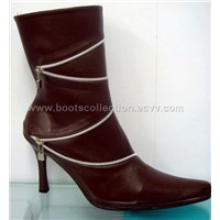 boots fashion By Genuine leather.