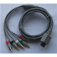 Wii DVD component cable