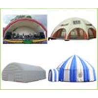 Inflate tents