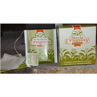 Stevia tea in boxes
