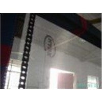 FIBERGLASS MESH WITH PRINTED LOGO