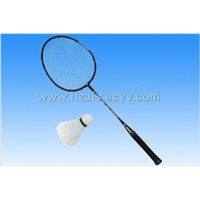 Iron alloy one-piece racket