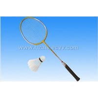 Outside T-branch aluminum racket