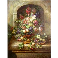 High Quality Reproduction Flowers Oil Painting