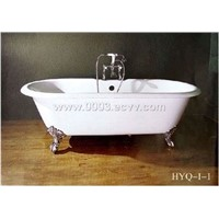 feilong cast iron bathtub