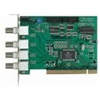 4ch Software Compression DVR Card