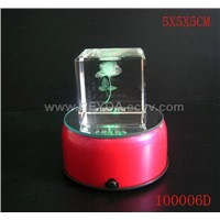 LED light base and crystal light 100006D