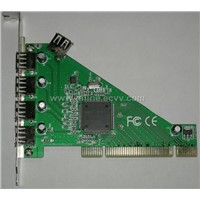 USB 2.0 PCI  Card  4+1 ports NEC chipset