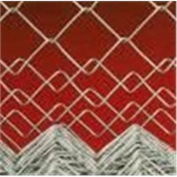 Chain link fence: