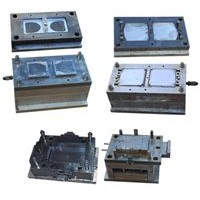 Mould for electricity meter enclosure