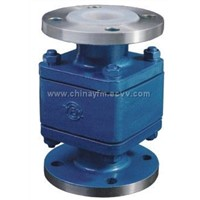 Floating-ball Lift type check valve