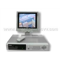 4CH Standalone DVR with LCD Monitor