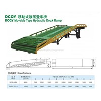 Movable Type Hydraulic Dock Ramp
