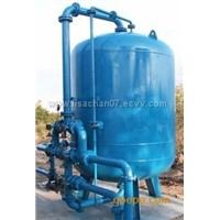 Water iron & manganese removal equipment